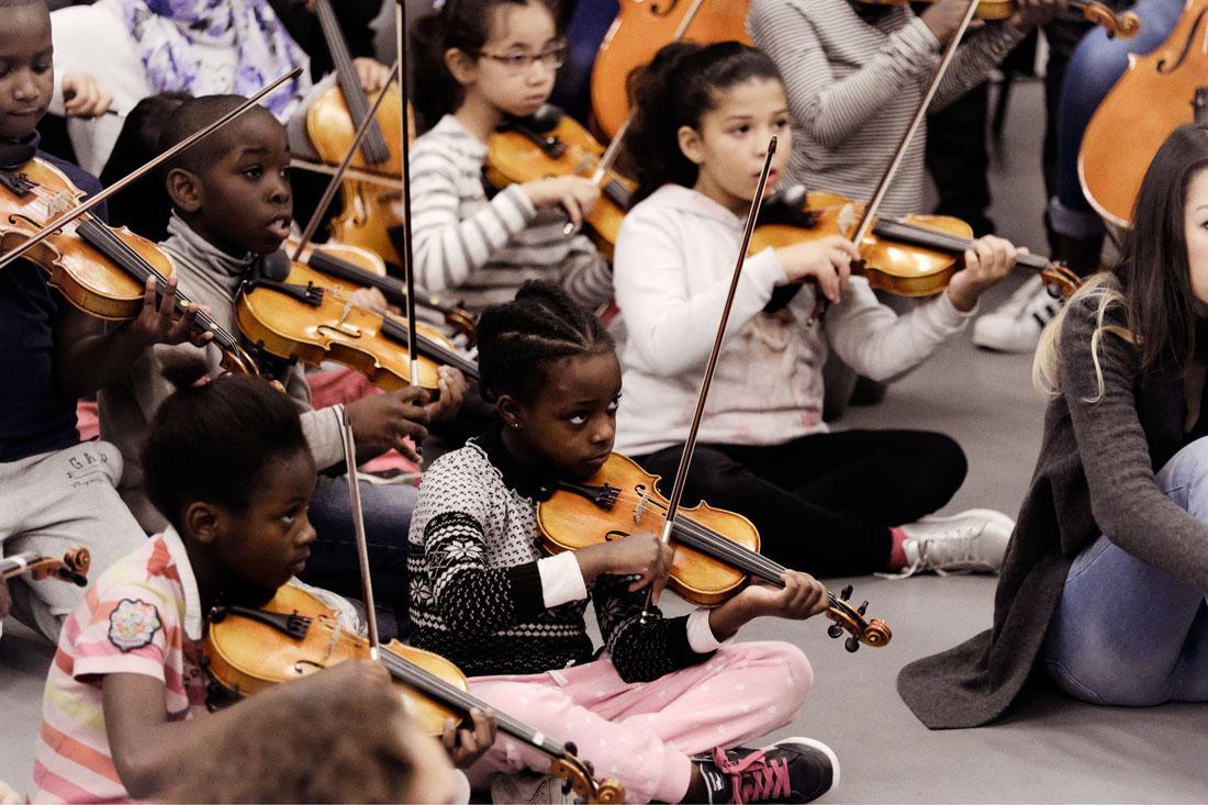 Stage de l'orchestre Démos Clermont-Ferrand