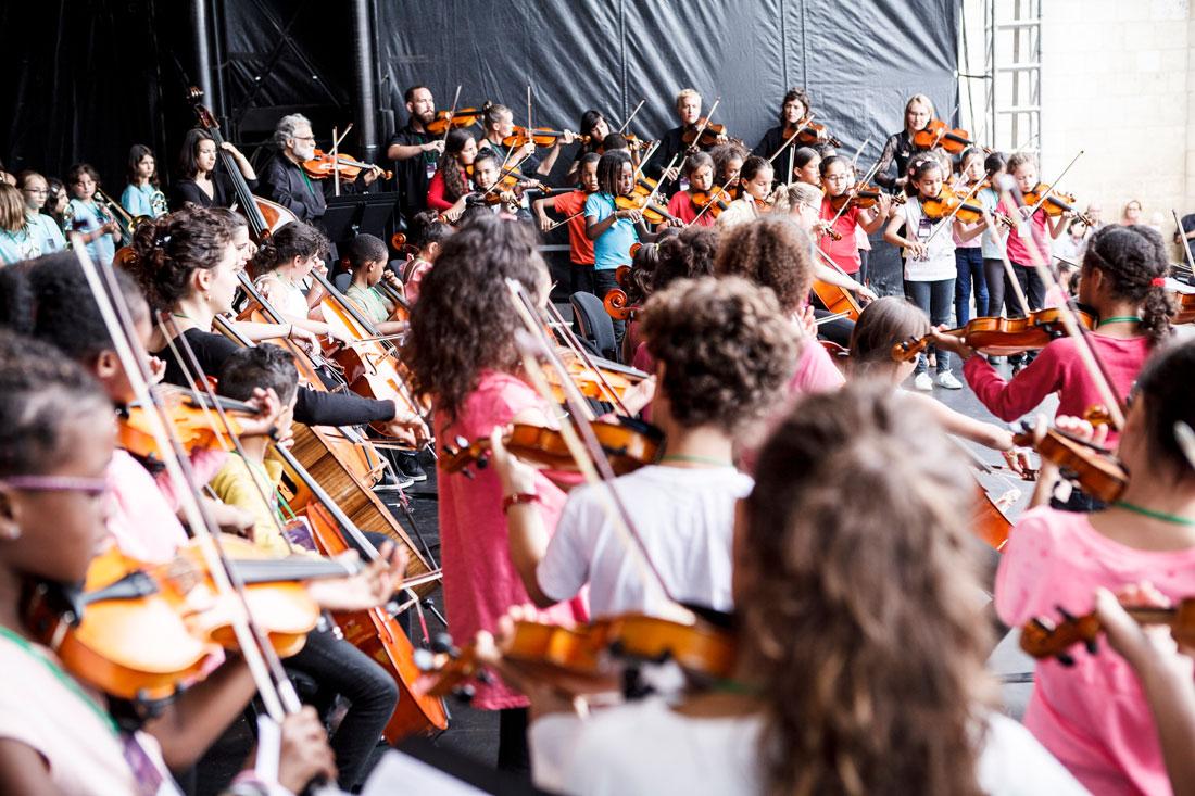 Tutti de l'orchestre Démos Lyon Métropole