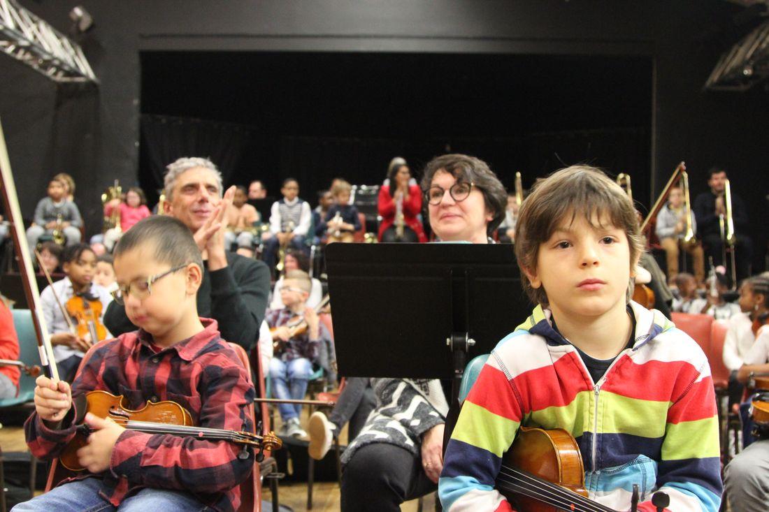 Tutti de l'orchestre Démos Brest Métropole