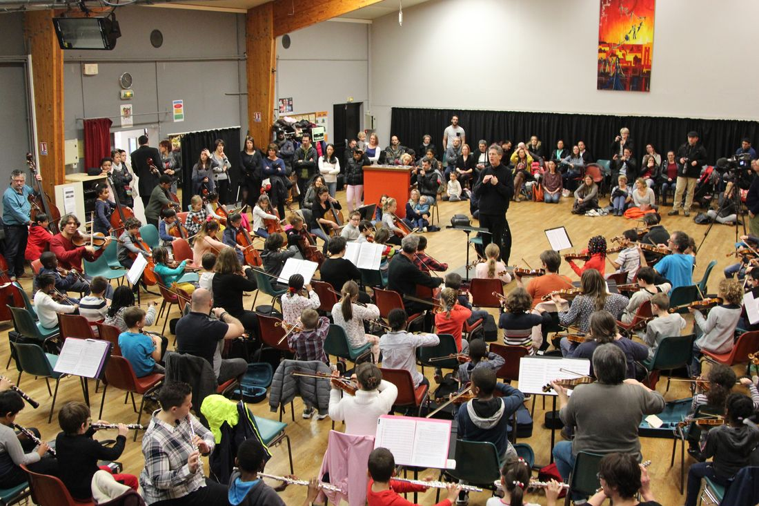 Concert de l'orchestre Démos Brest Métropole