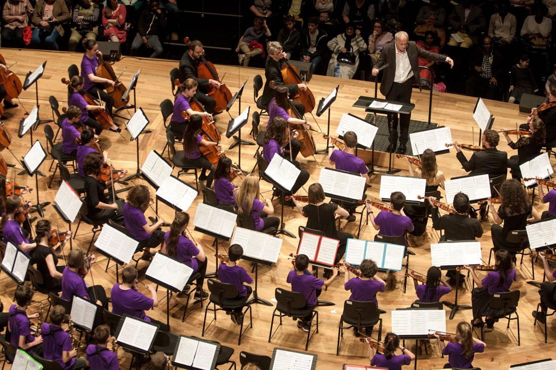 Orchestre Démos - conservatoire Soissons