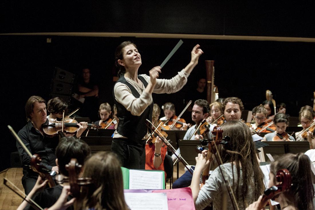 Stage de l'orchestre Démos Paris