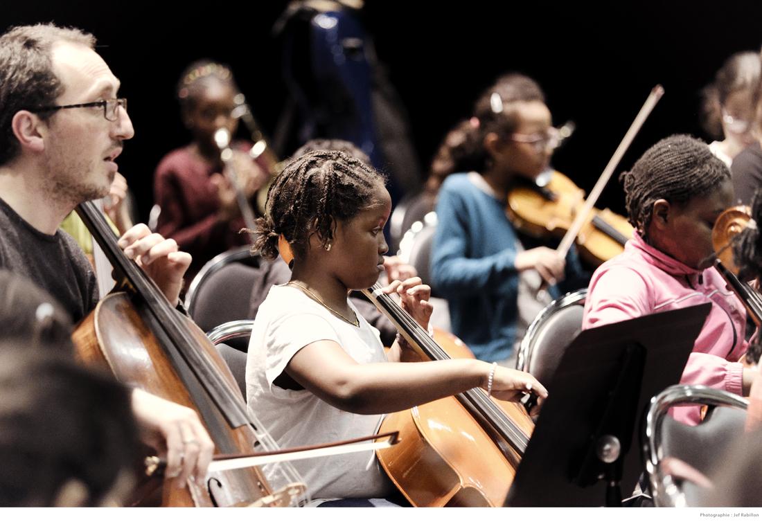 Stage de l'orchestre Démos Ouest Essonnes