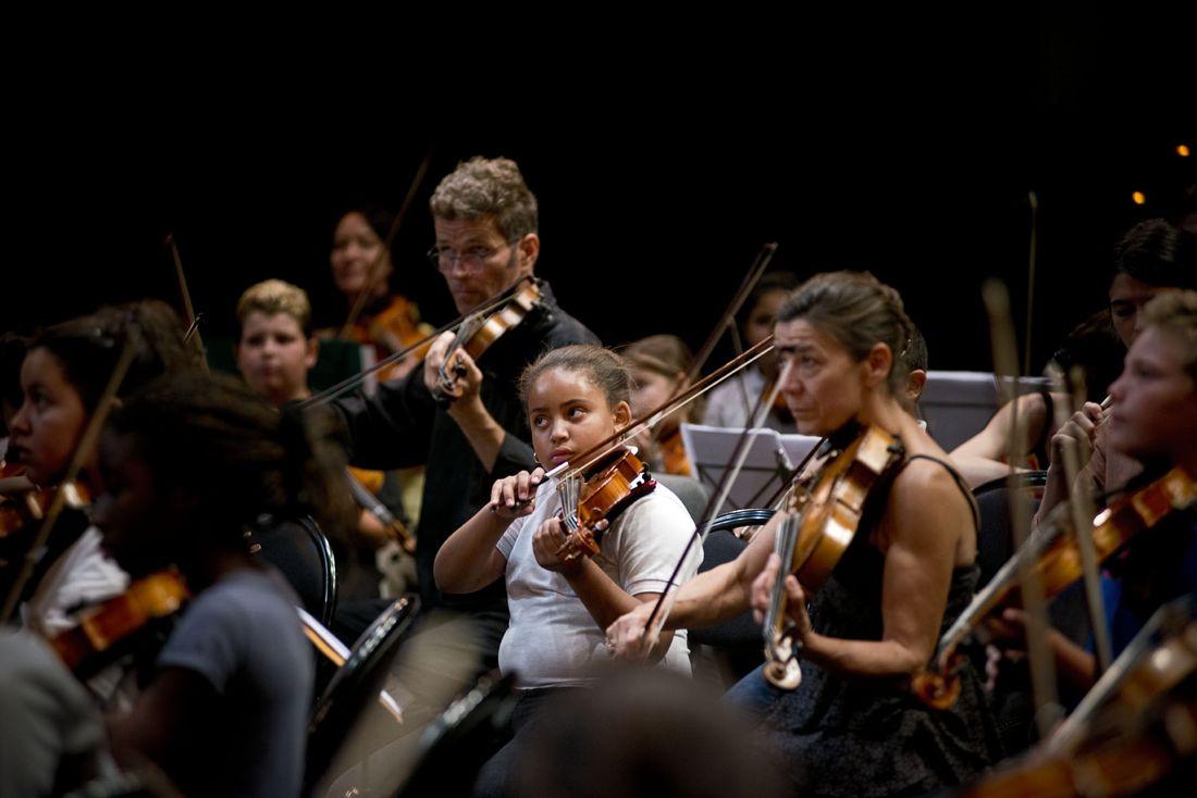 Tutti de l'orchestre Démos Marseille
