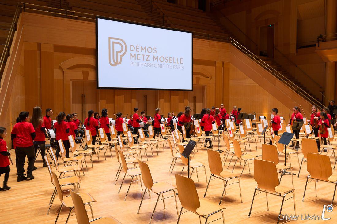 Stage de l'orchestre Démos Metz Moselle