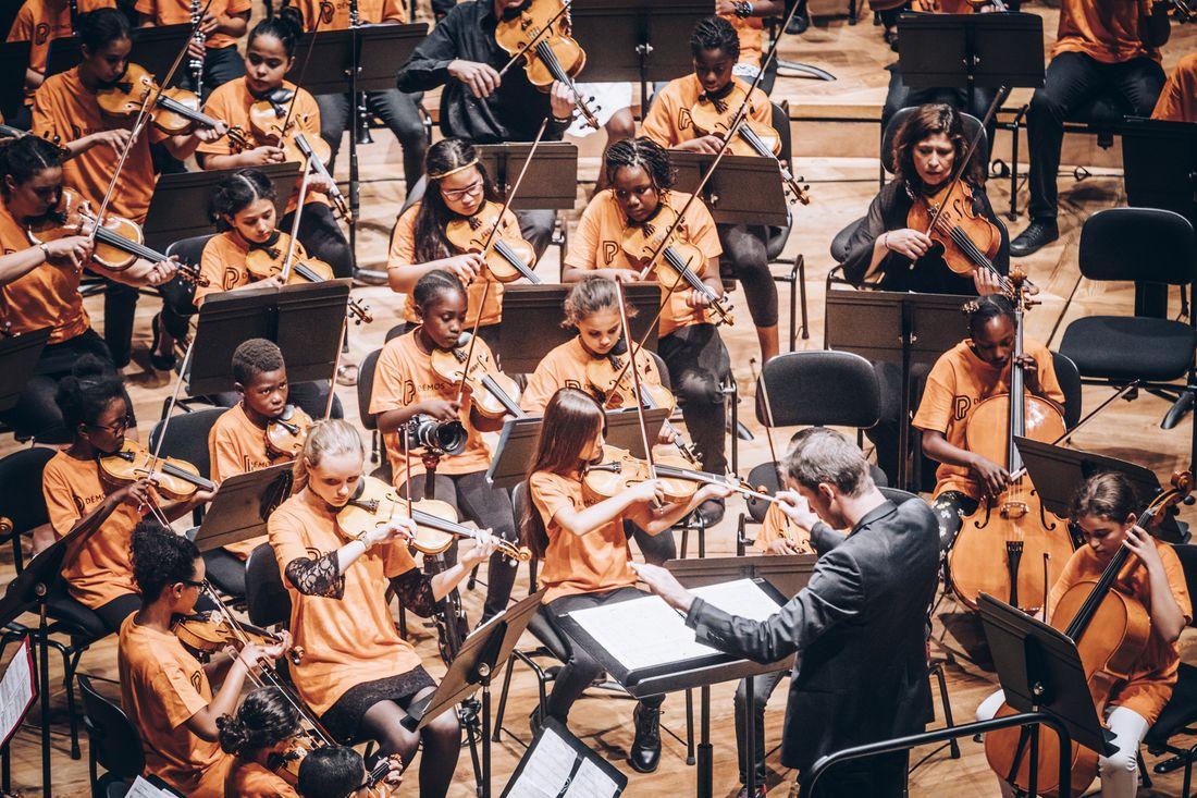 Stage de l'orchestre Démos des Hauts-de-Seine