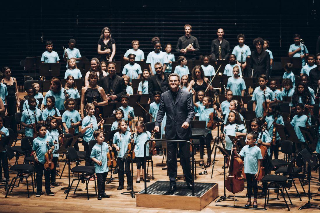 Stage de l'orchestre Démos Yvelines