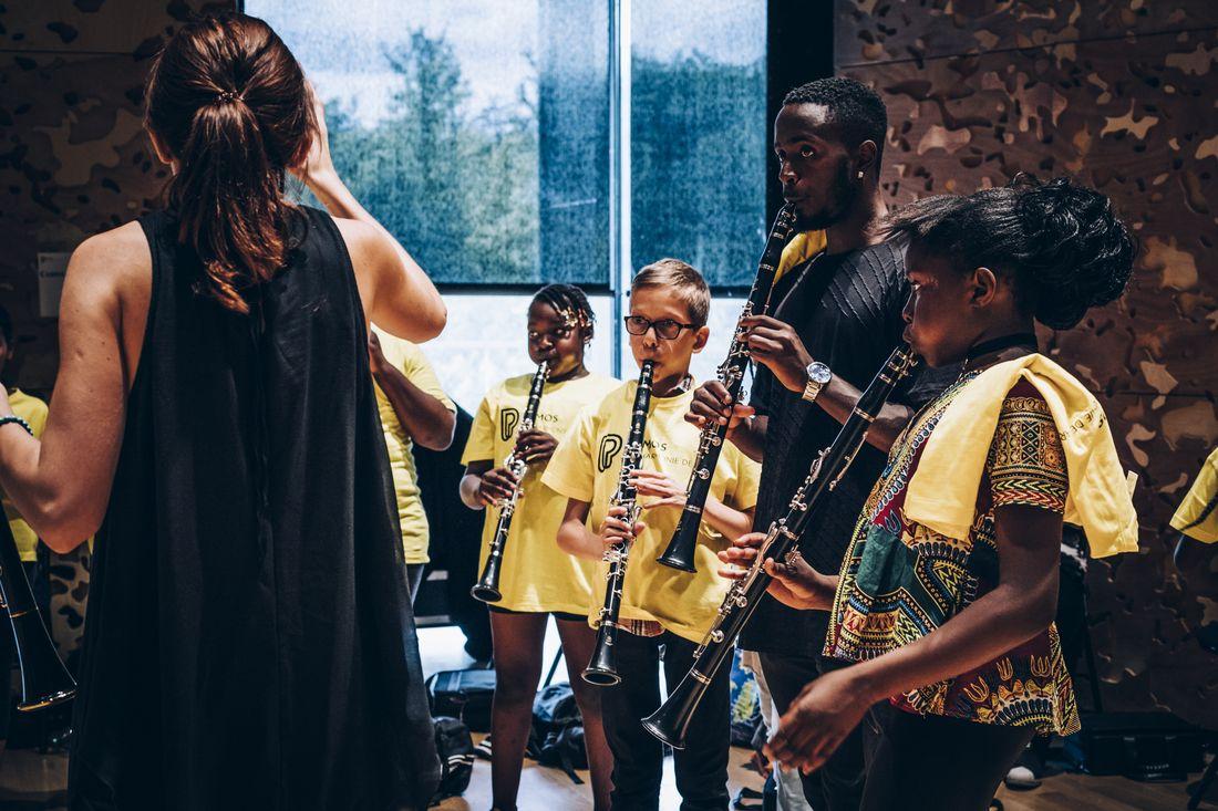Tutti de l'orchestre Démos Plaine Commune