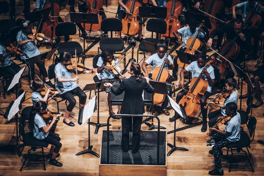 Tutti de l'orchestre Démos de Paris