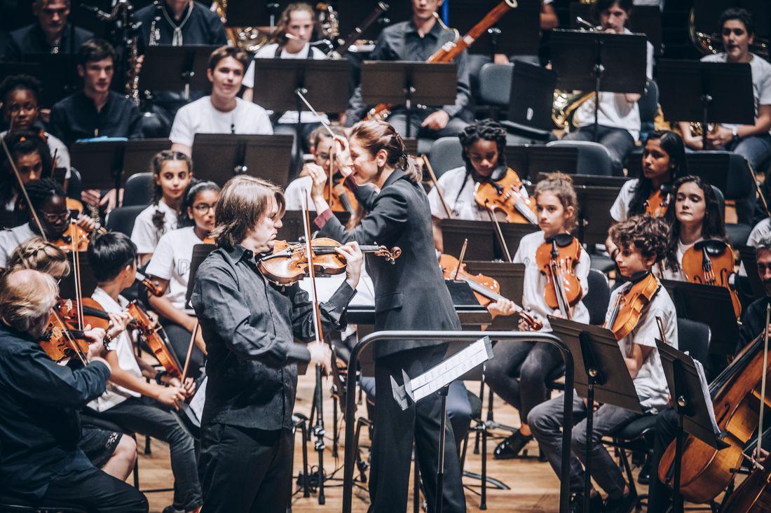 Stage de l'orchestre Démos - conservatoires Paris