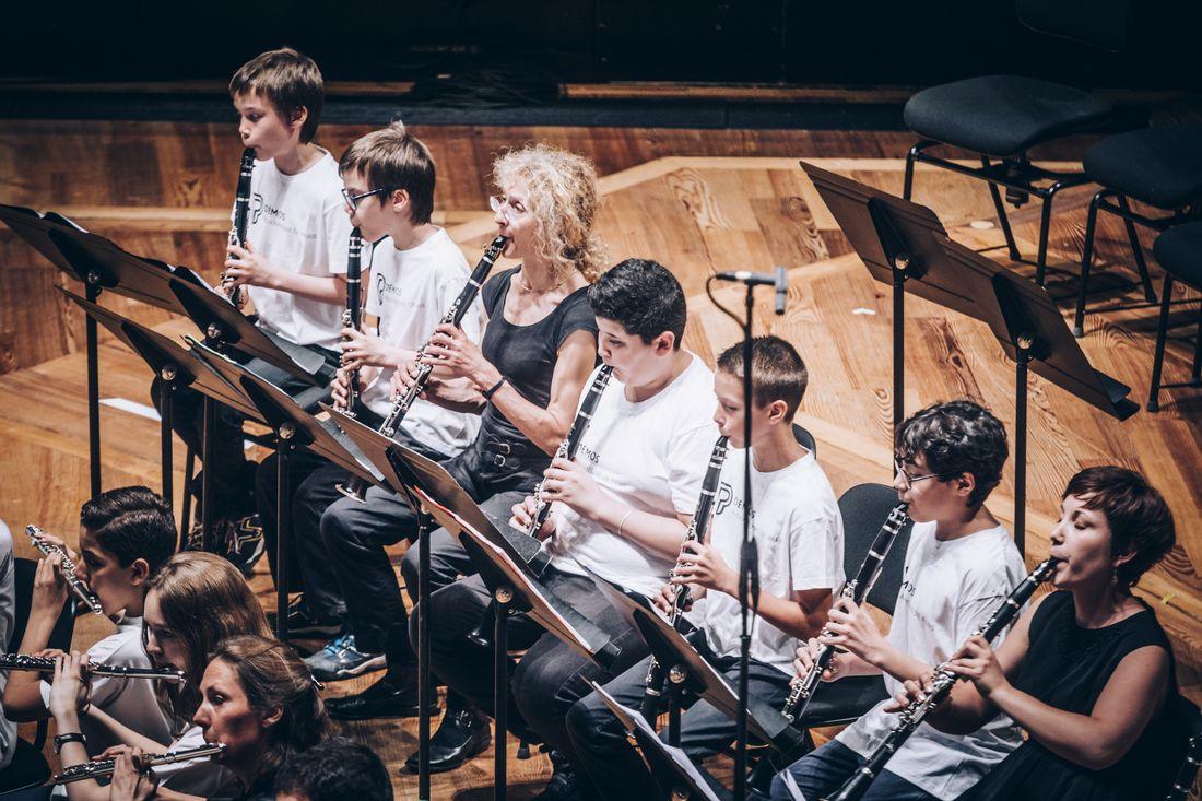 Concert de l'orchestre Démos - conservatoires Paris