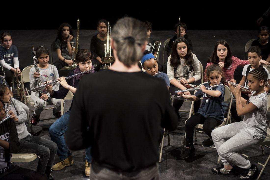 Tutti de l'orchestre Démos Val-de-Marne