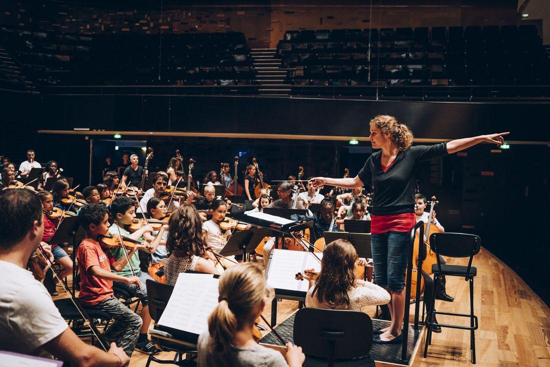 Tutti de l'orchestre Démos Val-d'Oise