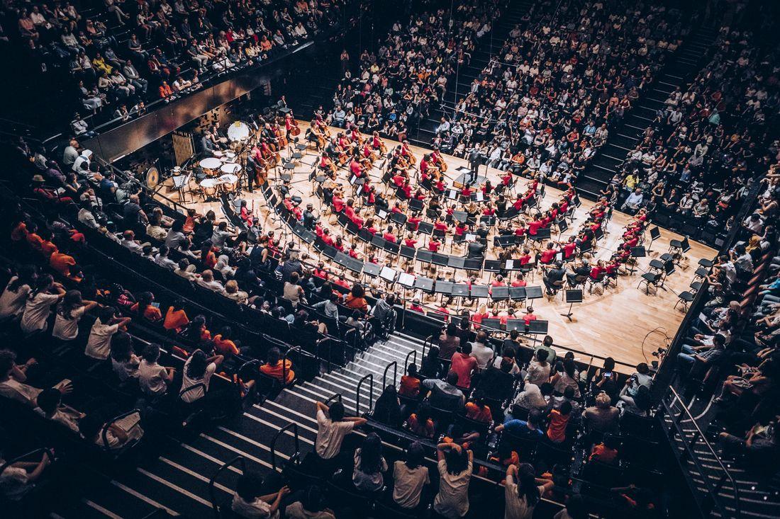 Tutti de l'orchestre Démos Grand Paris Sud