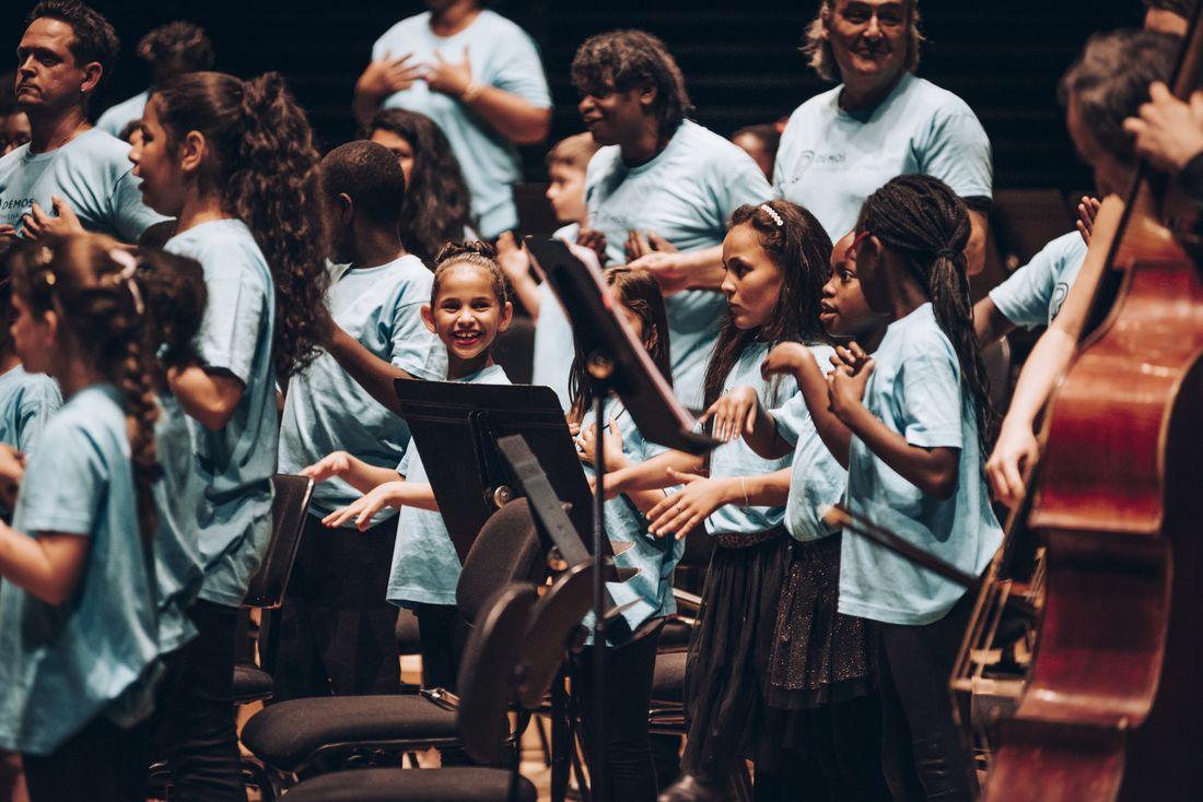 Tutti de l'orchestre Démos des Yvelines