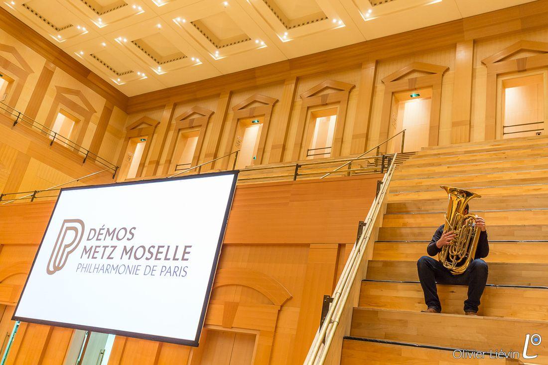 Tutti de l'orchestre Démos Metz Moselle