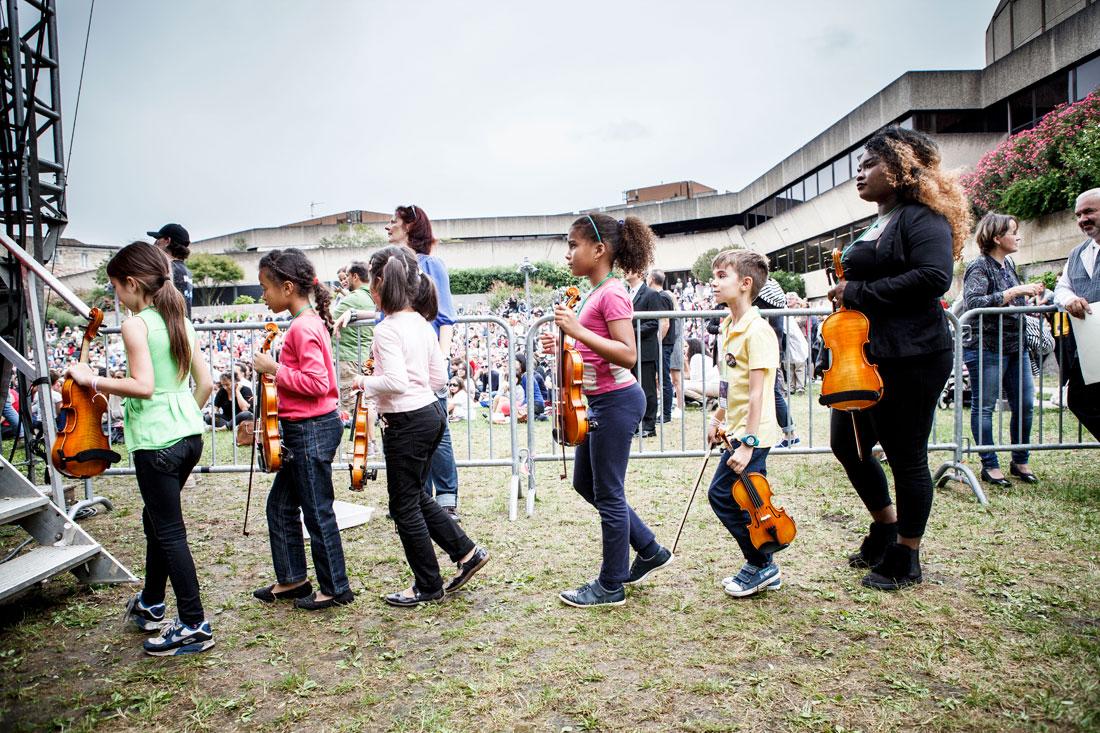 Tutti de l'orchestre Démos Bordeaux Métropole Gironde