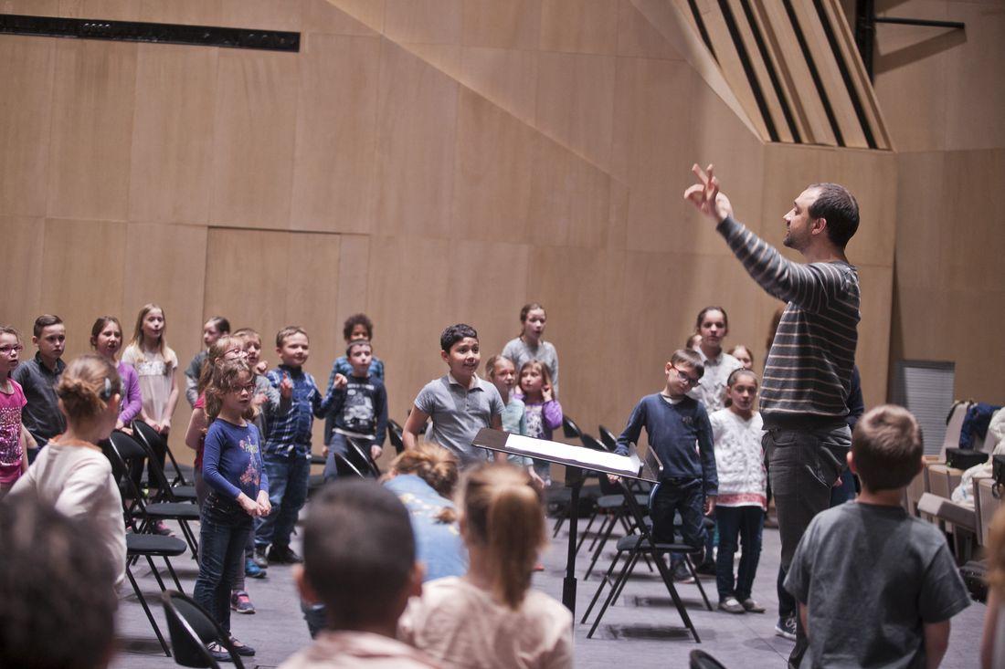 Stage de l'orchestre Démos du Soissonnais