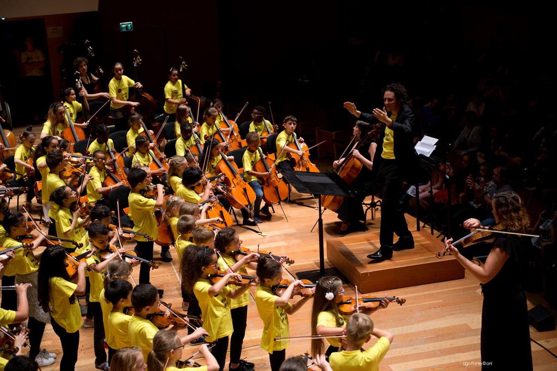 Concert de l'orchestre Démos Métropole Européenne de Lille