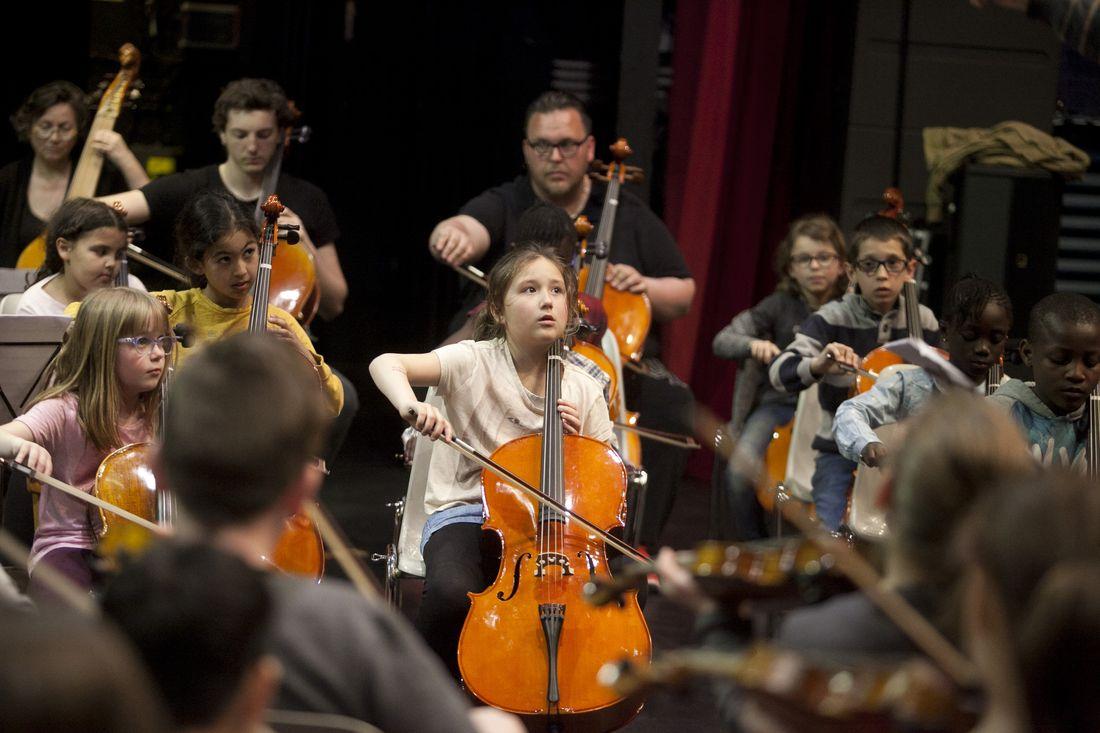 Stage de l'orchestre Démos Saint-Quentin Gauchy