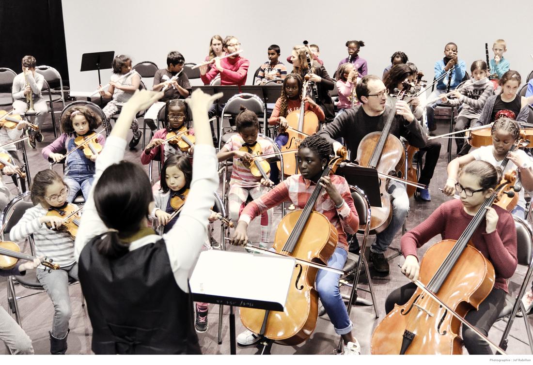 Stage de l'orchestre Démos de Paris