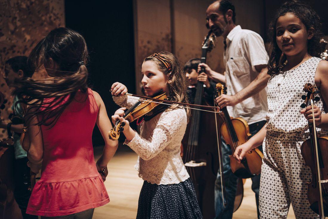 Stage de l'orchestre Démos Val-d'Oise