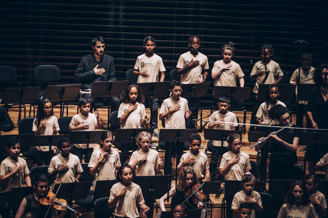Tutti de l'orchestre Démos Marne et Gondoire