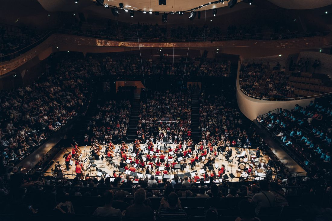 Concert de l'orchestre Démos El Camino - Pau