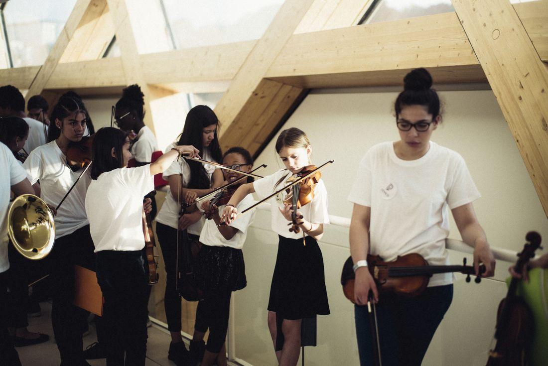 Concert de l'orchestre Démos Philharmonie de Paris
