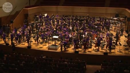 Concert des orchestres Démos à la salle Pleyel | Leblé, Christian. Metteur en scène ou réalisateur