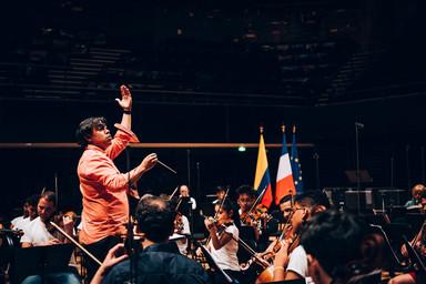 Concert d'ouverture de la Saison de la Colombie en France   Pawlak, Martina. Photographe