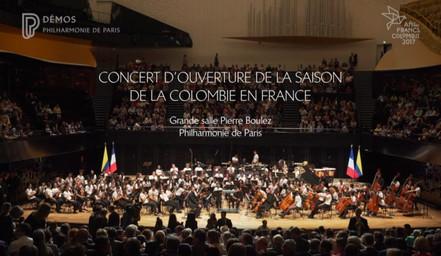 Concert d'ouverture de la Saison de la Colombie en France | Thiébaut, Samuel. Metteur en scène ou réalisateur