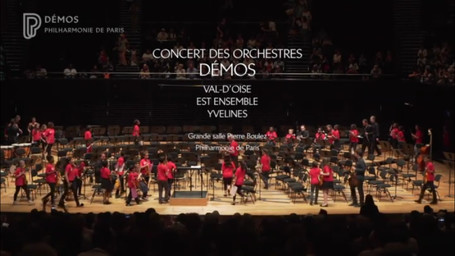 Concert de fin d'année à la Philharmonie de Paris | Thiébaut, Samuel. Metteur en scène ou réalisateur