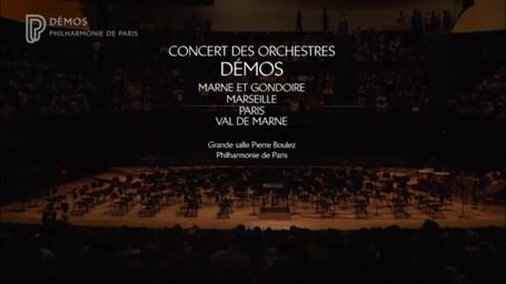 Concert de fin d'année à la Philharmonie de Paris   Bouyer, Pierre-Jean. Metteur en scène ou réalisateur