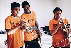 Les orchestres Démos des Hauts-de-Seine et conservatoires Paris en concert à la Seine Musicale   Du Parc, Ava. Photographe