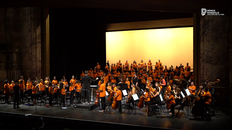 Concert de l'orchestre Démos Marseille |