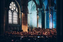 Concert à la basilique Saint-Denis   Du Parc, Ava. Photographe