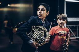 Les orchestres Démos d'Île-de-France | Bassenne, Romain. Photographe