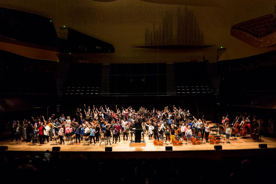 Stage de l'orchestre Démos El Camino
