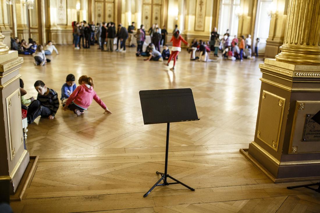 Stage de l'orchestre Démos Bordeaux Métropole Gironde