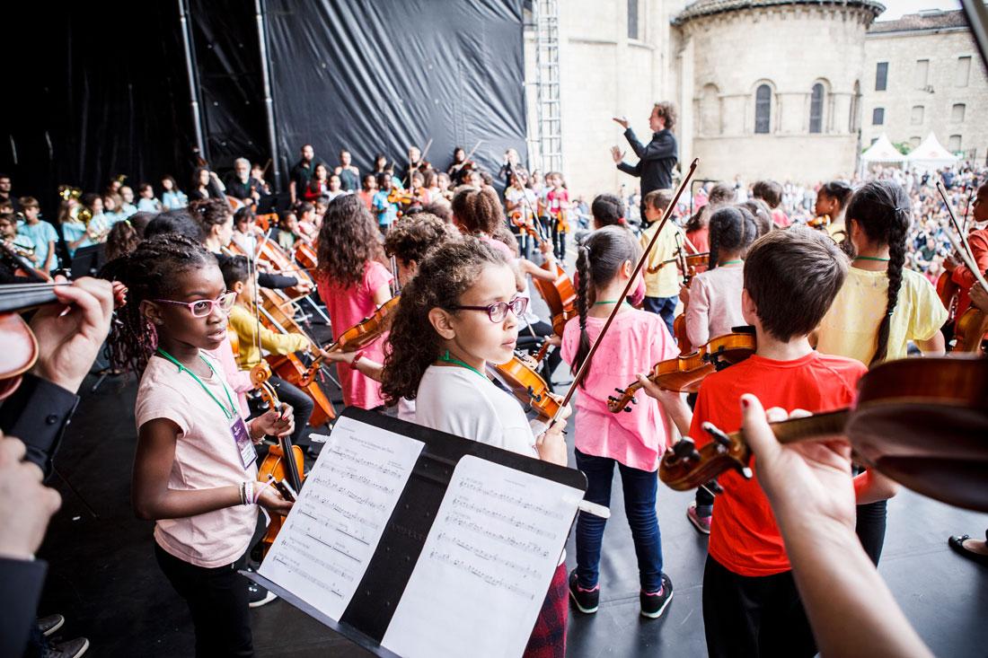 Concert de l'orchestre Démos Bordeaux Métropole Gironde
