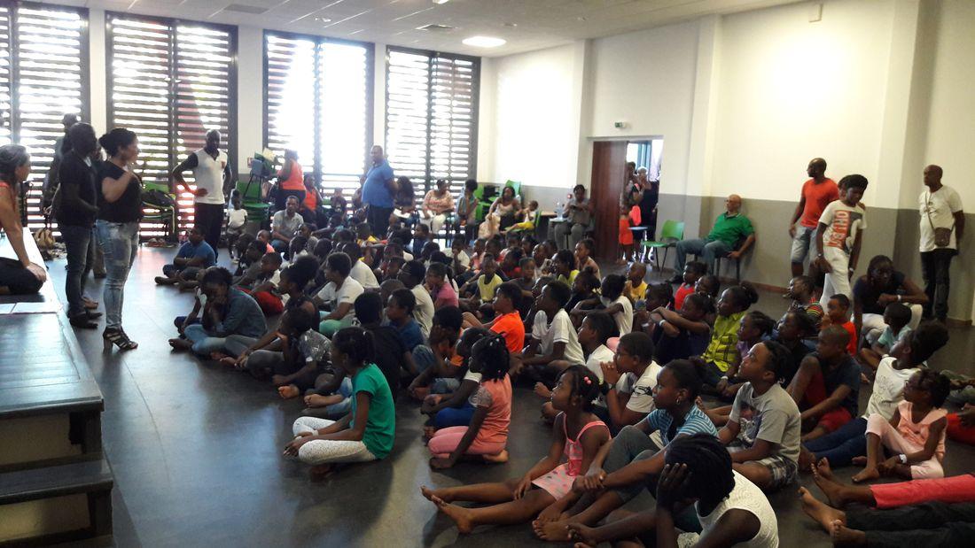 Stage de l'orchestre Démos Guadeloupe Cap Excellence