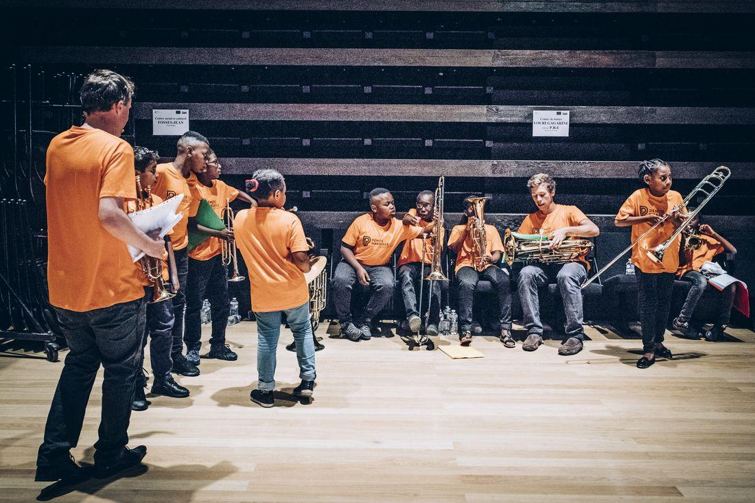Tutti de l'orchestre Démos - Marseille