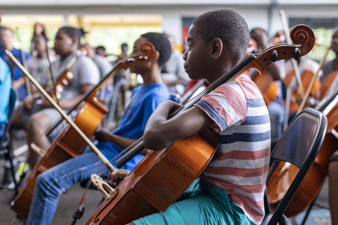 Orchestre Démos Guadeloupe Cap Excellence