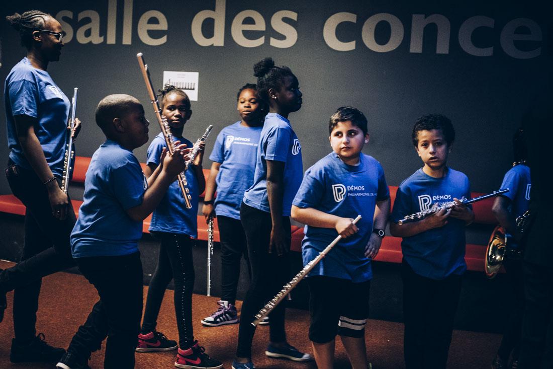 Concerts des orchestres Démos à la Cité de la musique