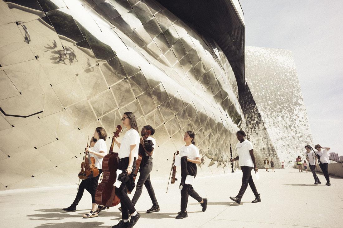Orchestre Démos - conservatoires Paris