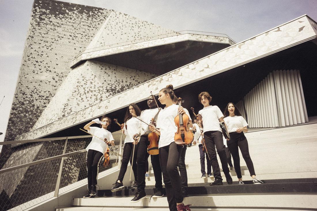 Orchestre Démos - conservatoires Paris |
