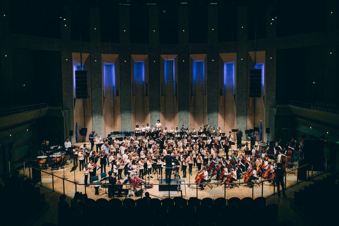 Les orchestres Démos à la Cité de la musique