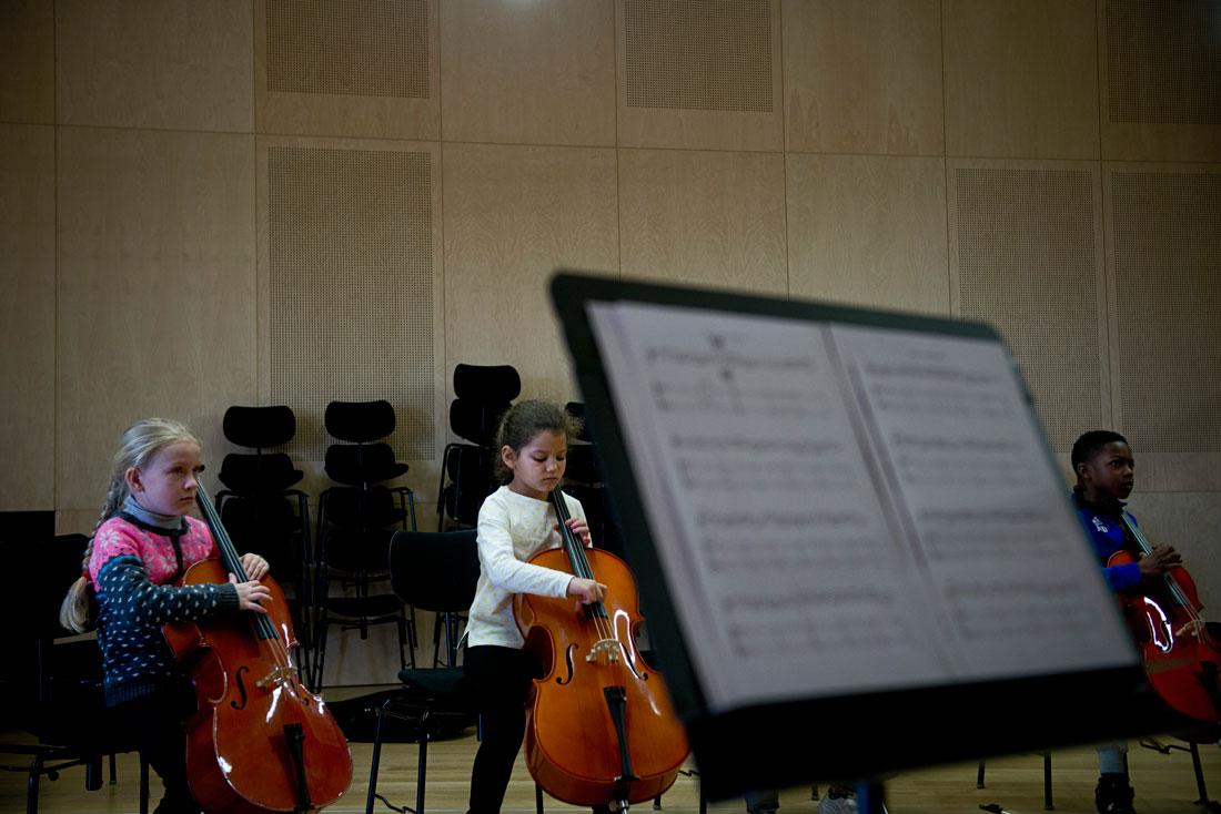 Stage de l'orchestre Démos Nord Réunion