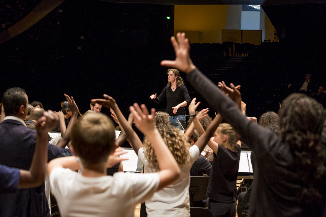 Partielle vents et percussion de l'orchestre Démos Brest Métropole
